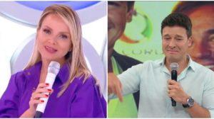 Eliana e Rodrigo Faro disputam audiência aos domingos - Foto: Reprodução