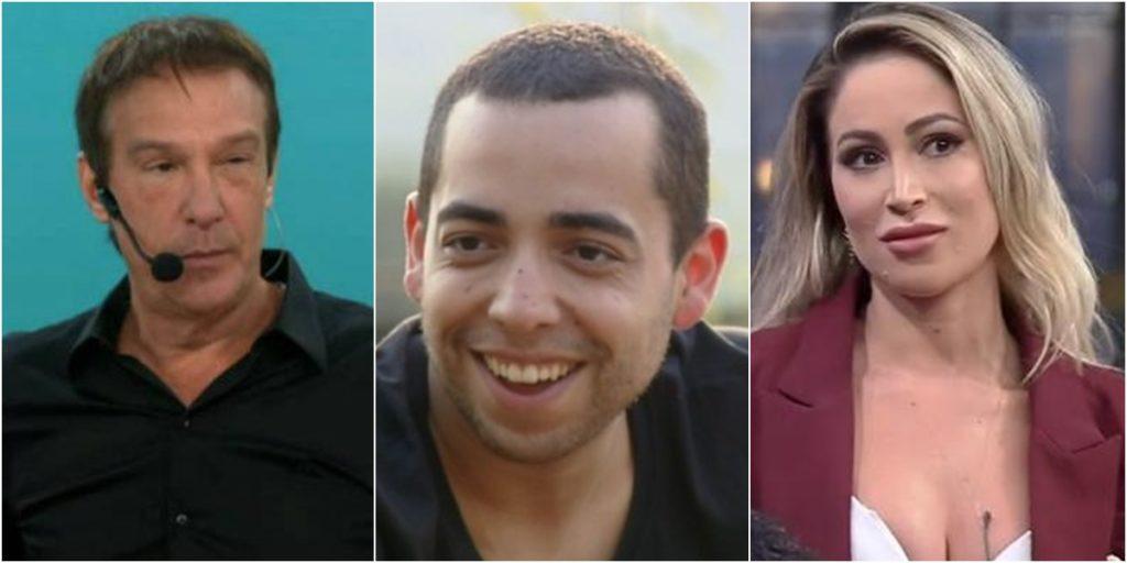 No elenco de A Fazenda, Lucas Selfie e Carol Narizinho tiveram passagem pelo Pânico. (Foto: Montagem/Reprodução)