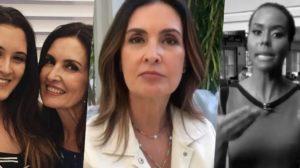 Fátima Bernardes, Bia Bonemer e Maju Coutinho (Foto: reprodução)