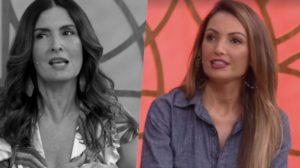 Fátima Bernardes foi substituída por Patrícia Poeta (Foto: reprodução/Globo)