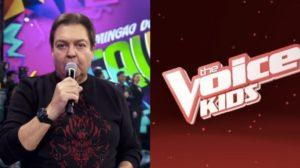 Faustão e The Voice Kids podem sair do ar (Foto: repridução)