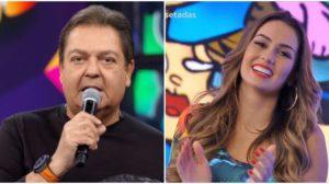 O apresentador Faustão surpreendeu ao revelar bailarina infectada na Globo - Foto: Montagem