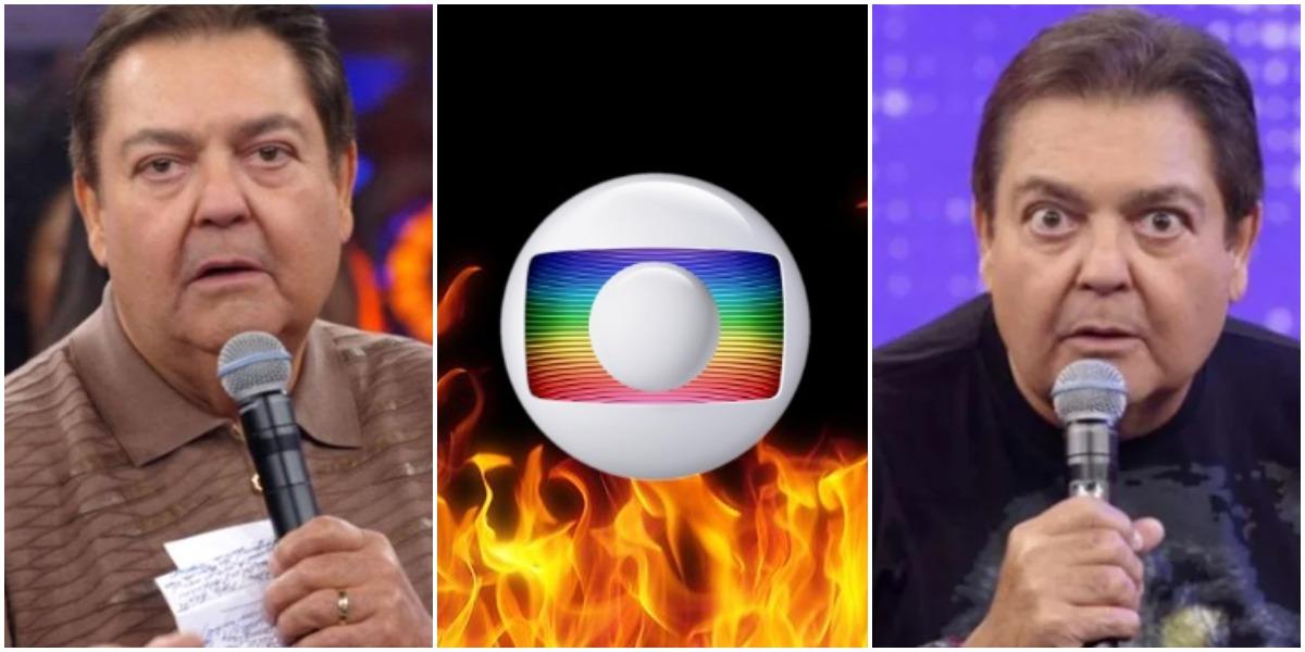 O apresentador da Globo, Faustão (Reprodução)