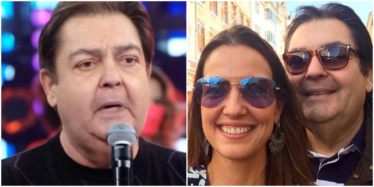 Faustão é casado com Luciana Cardoso (Reprodução)