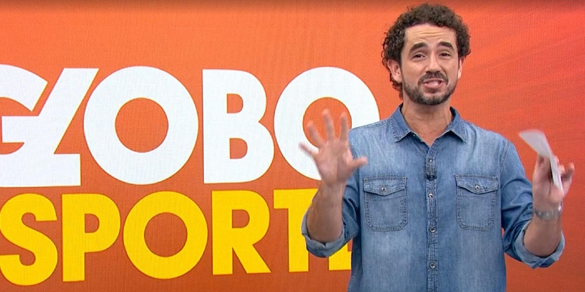Felipe Andreoli anuncia saída do Globo Esporte (Foto: Reprodução)