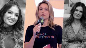 Fernanda Gentil assumiu o lugar de Patrícia Poeta no programa de Fátima Bernardes (Foto: reprodução)