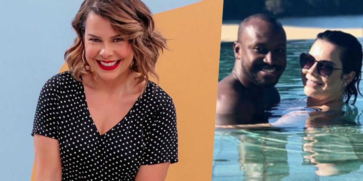 Fernanda Souza foi casada com o cantor Thiaguinho (Foto: reprodução)