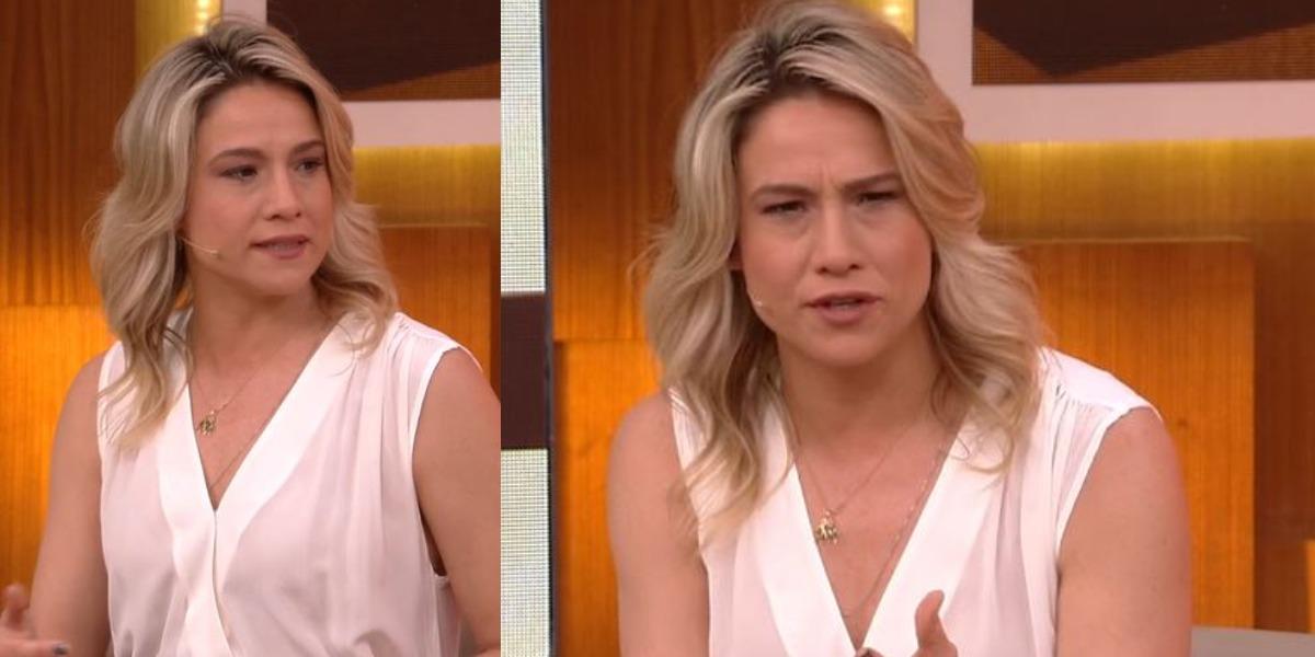 """Fernanda Gentil no comando do """"Encontro"""" (Foto: Reprodução/TV Globo)"""