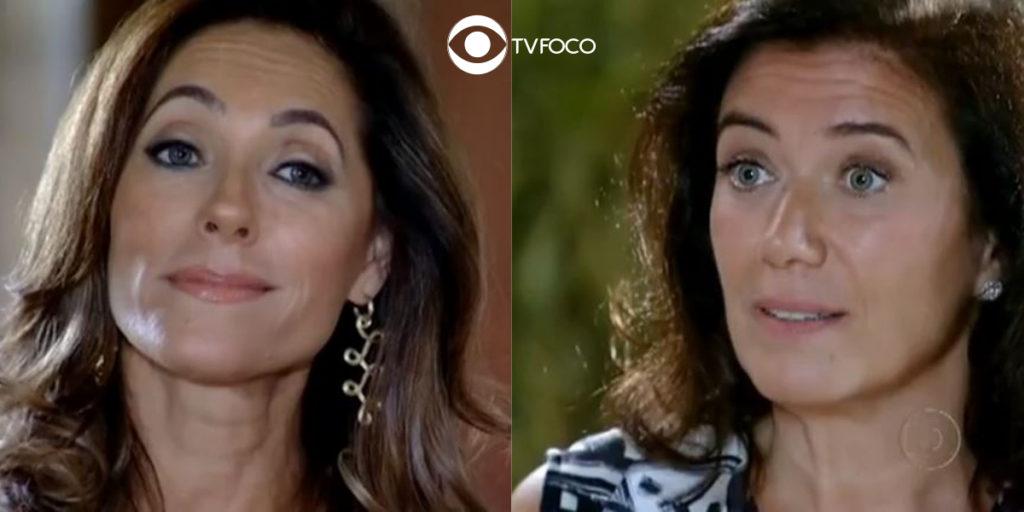 Fotomontagem de Tereza Cristina e Griselda de Fina Estampa