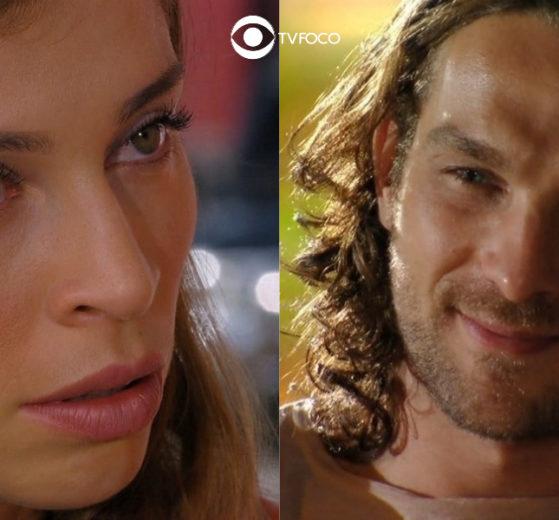 Ester fica enojada com seu marido Alberto em Flor do Caribe