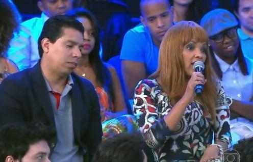 Flordelis e Anderson do Carmo em programa da Globo (Foto: Reprodução)