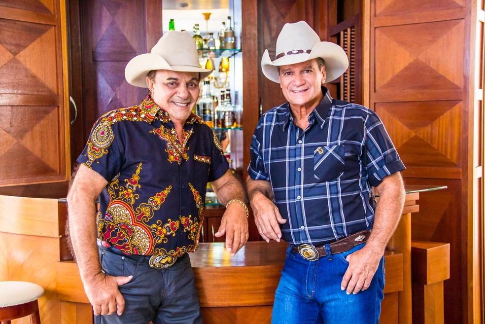 A dupla Gino & Geno. — Foto: Gino & Geno/Divulgação