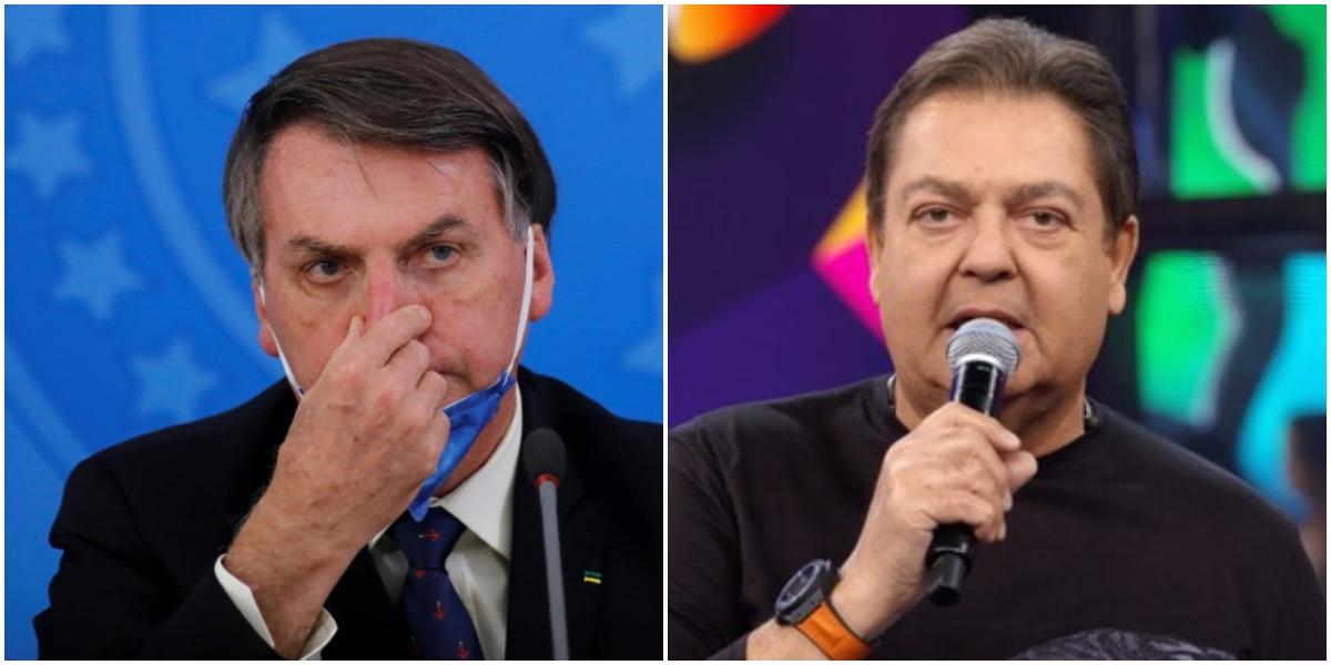 Globo foi desmascarada no Faustão após criticar Bolsonaro - Foto: Montagem