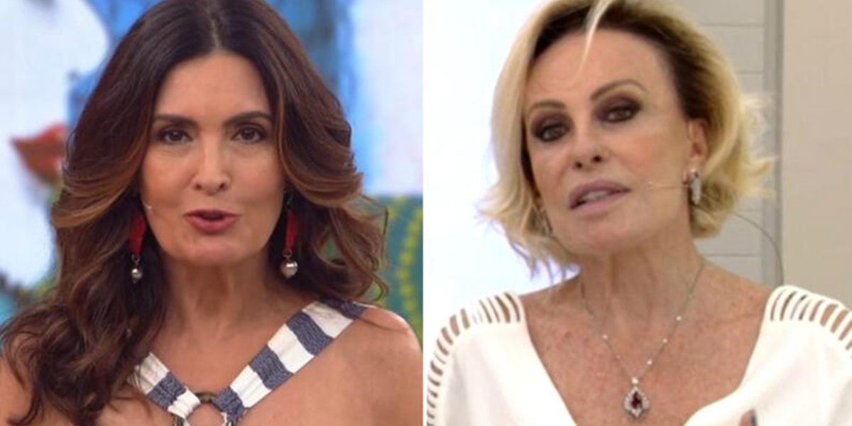 Fátima Bernardes e Ana Maria Braga, apresentadoras queridas dos anunciantes na Globo (Foto: Reprodução/Globo)