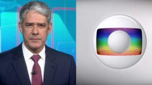 William Bonner no Jornal Nacional, principal atração da Globo (Foto: Reprodução/Globo)