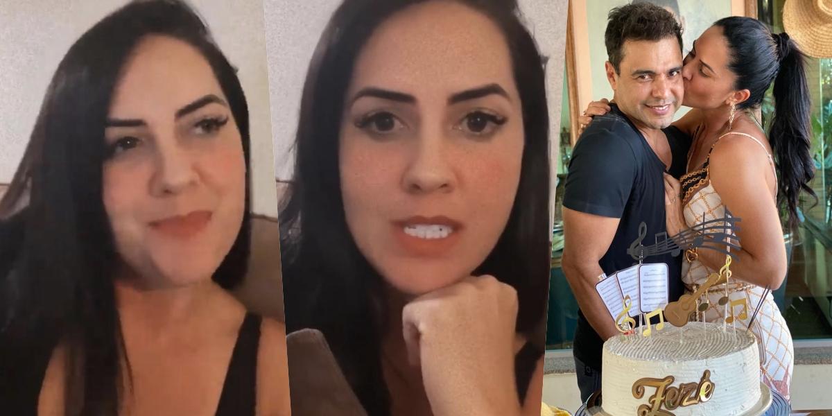 Graciele Lacerda falou sobre a gravidez com Zezé (Foto: reprodução/Instagram)