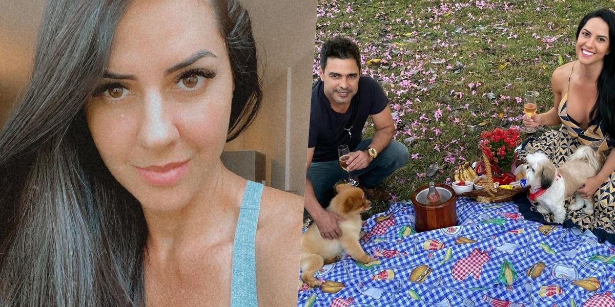 Graciele Lacerda é noiva do cantor Zezé di Camargo (Foto: reprodução/Instagram)