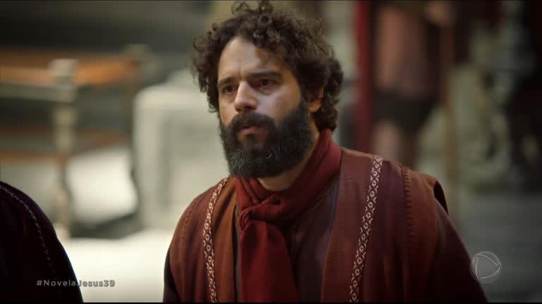 Guilherme Winter foi Judas na novela de Jesus