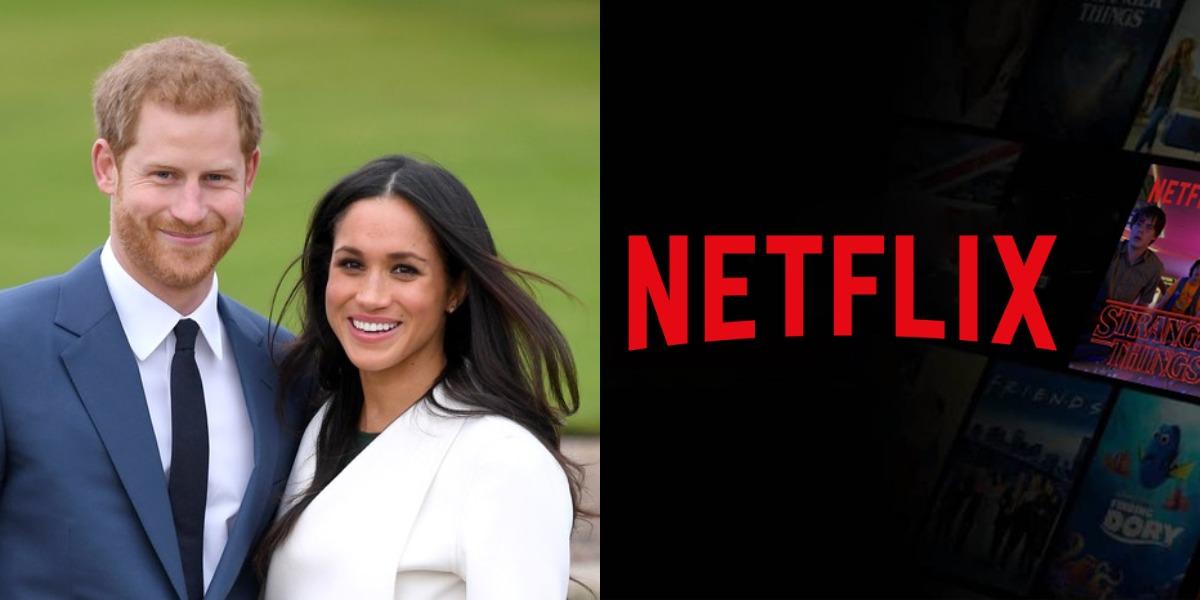Harry e Meghan assinam contrato com a Netflix (Foto: Reprodução)
