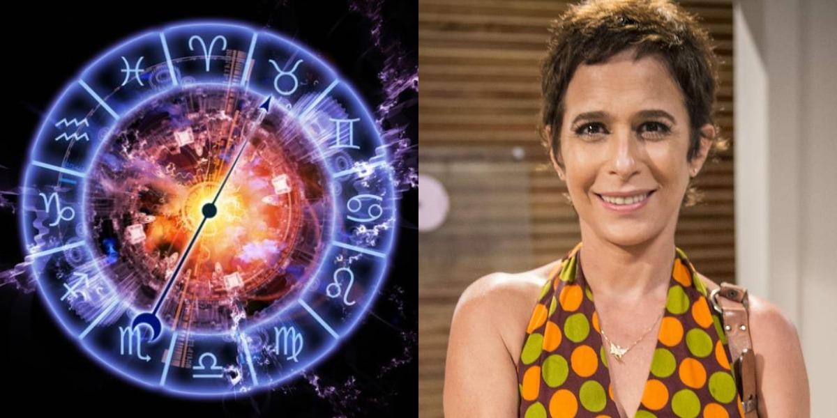 A aniversariante desta quarta-feira, 16, é a atriz Andréa Beltrão, artista do signo de Virgem (Foto: Reprodução)