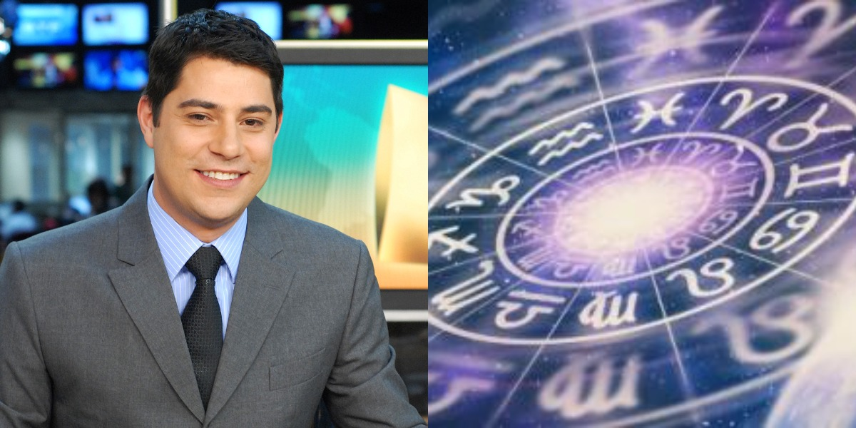 O aniversariante desta quarta-feira, 30, é o jornalista Evaristo Costa, ex-global do signo de Libra (Foto: Reprodução)