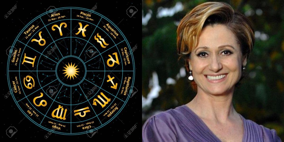 A aniversariante desta terça-feira, 22, é a atriz Zezé Polessa, que é do signo de Virgem (Foto: Reprodução)