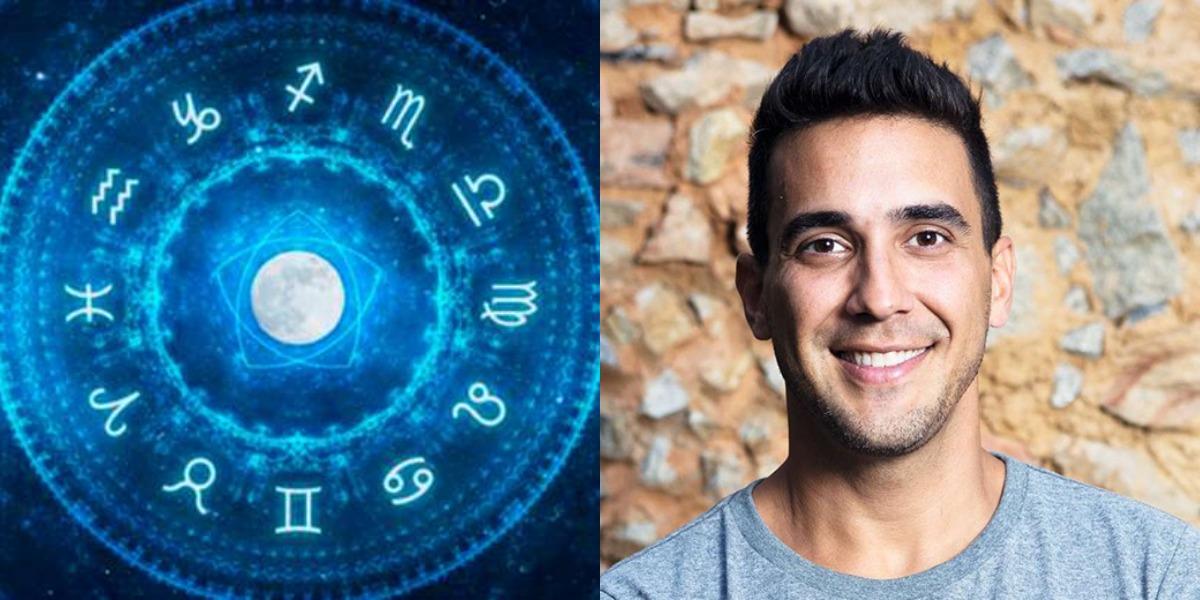 O aniversariante desta quinta-feira, 23, é o apresentador André Marques, que é do signo de Libra (Foto: Reprodução)