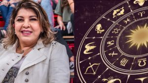 A aniversariante desta segunda-feira, 28, é a cantora Roberta Miranda, artista do signo de Libra (Foto: Reprodução)