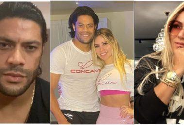 """Hulk Paraíba disse que """"nunca amou"""" a ex, Iran Ângelo (Reprodução)"""