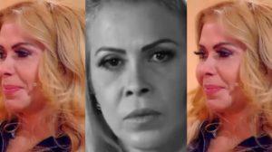 Joelma sofre com as sequelas da covid-19 (Foto: Reprodução/TV Globo)