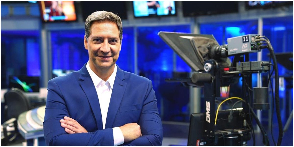 Luís Ernesto Lacombe agora é da RedeTV! - Foto: Reprodução