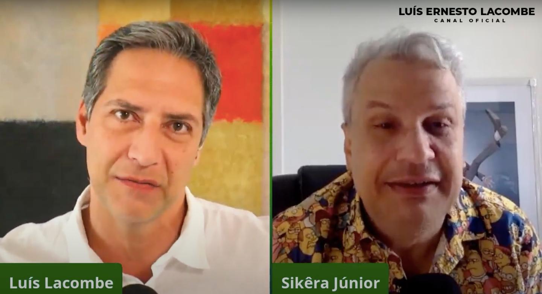 Lacombe entrevistou Sikêra Jr em seu canal (Foto: reprodução/Youtube)