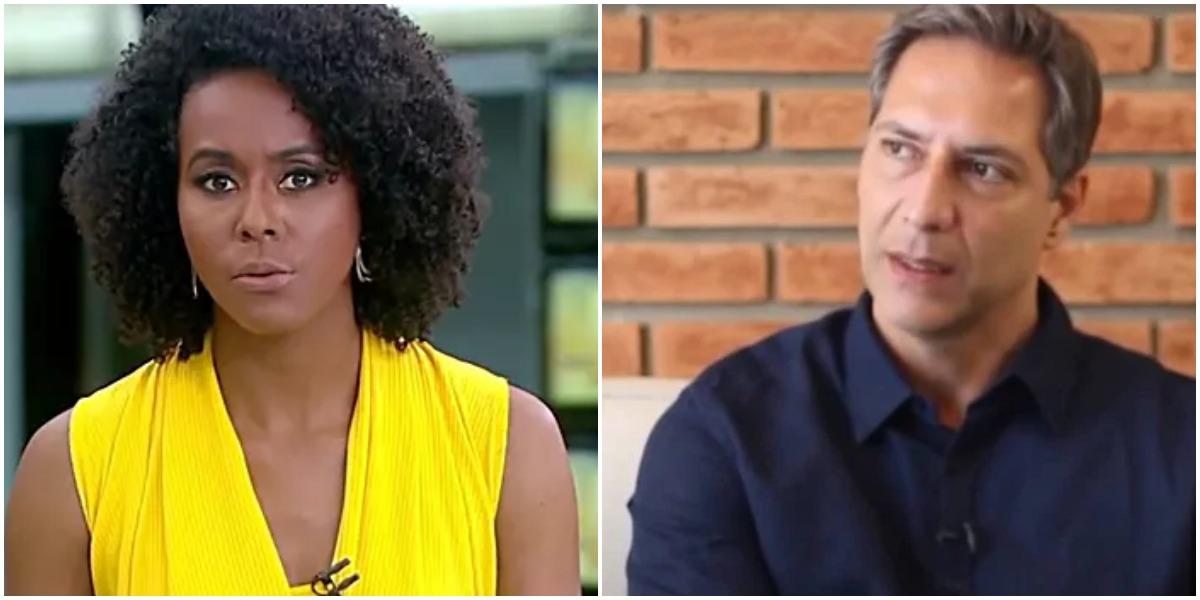 Lacombe reproduziu vídeo polêmico sobre Maju Coutinho (Reprodução)