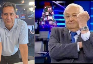 Boris Casoy foi demitido após contratação de Luís Ernesto Lacombe (Foto: Reprodução/RedeTV!)