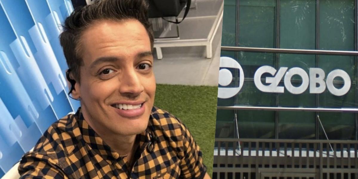 Leo Dias ganhou destaque na Globo (Foto: reprodução)