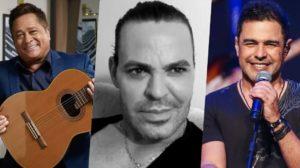 Leonardo, Zezé di Camargo e Eduardo Costa receberam previsões sobre suas vidas (Foto: reprodução)