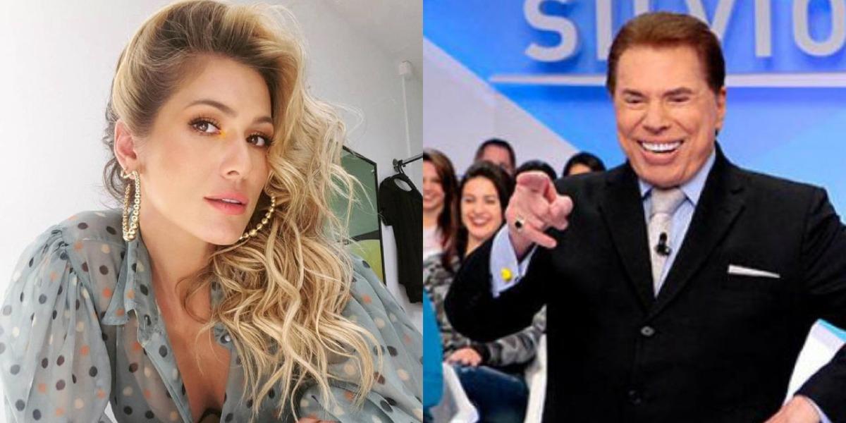 Silvio Santos decide futuro de lívia Andrade no SBT (Foto: Reprodução)