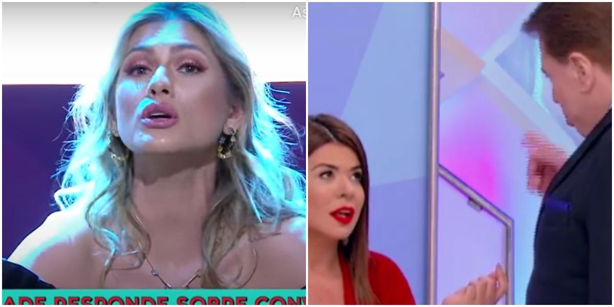 Lívia Andrade foi desmascarada na Cadeira da Verdade no SBT - Foto: Montagem