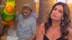 Louro José e Fátima Bernardes estão doentes (Foto: Reprodução/TV Globo)