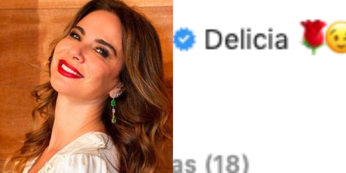 Comentário de Luciana Gimenez (Foto: Reprodução)