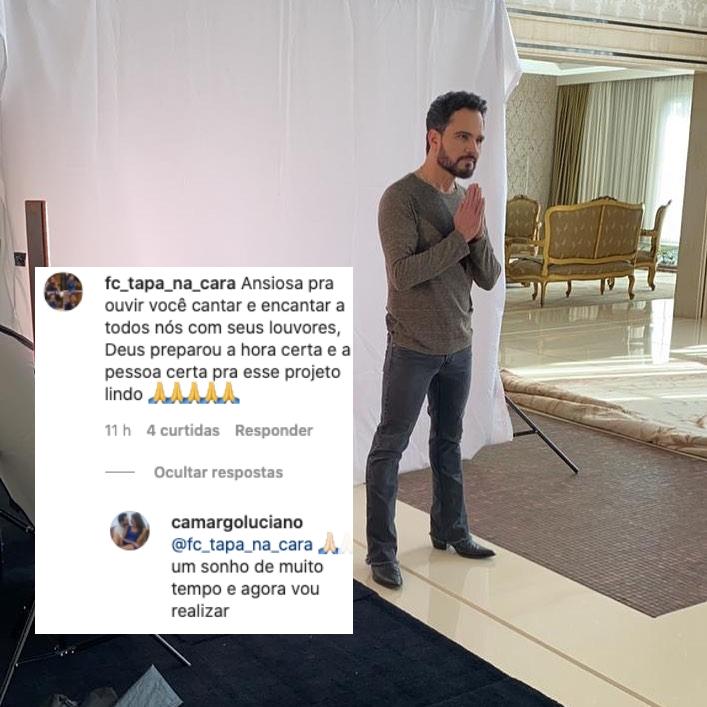 Luciano Camargo abriu o coração sobre seu sonho (Foto: reprodução/Instagram)