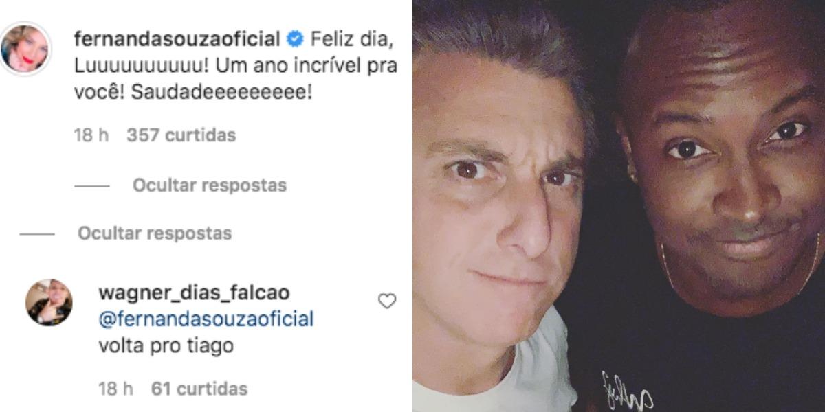 Luciano Huck e Thiaguinho são muito amigos (Foto: Reprodução/Instagram)