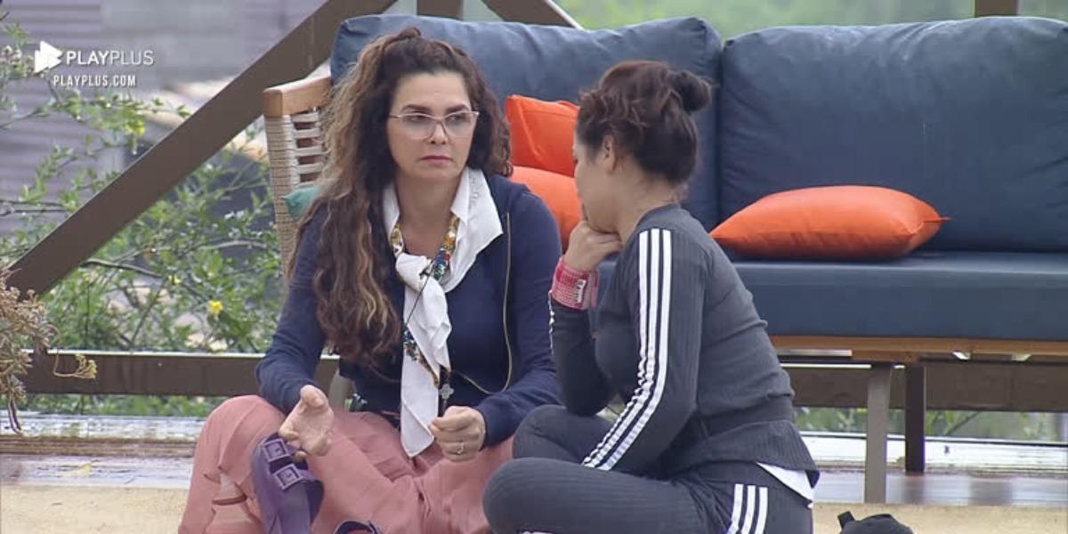 Luiza Ambiel e Raissa Barbosa se unem contra Biel (Foto: Reprodução)