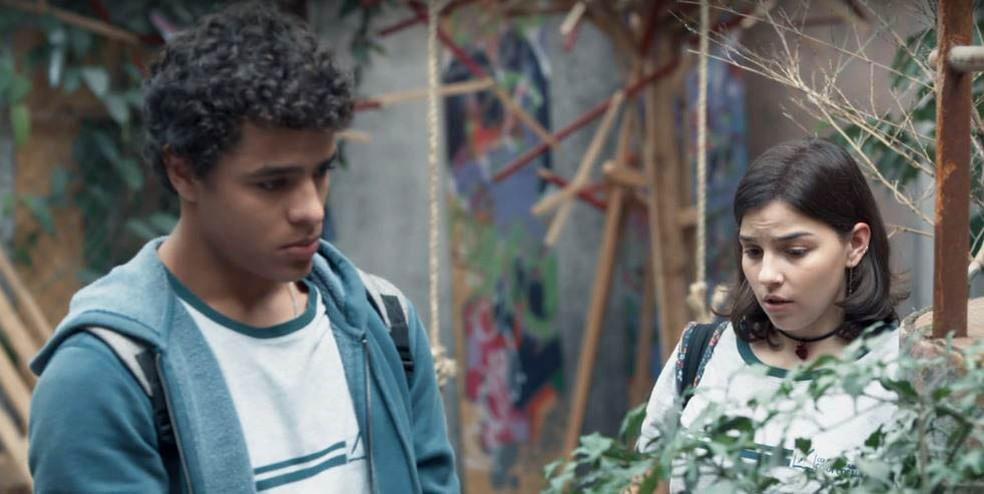 Tato e Keyla tem uma conversa reveladora em Malhação - Viva a Diferença