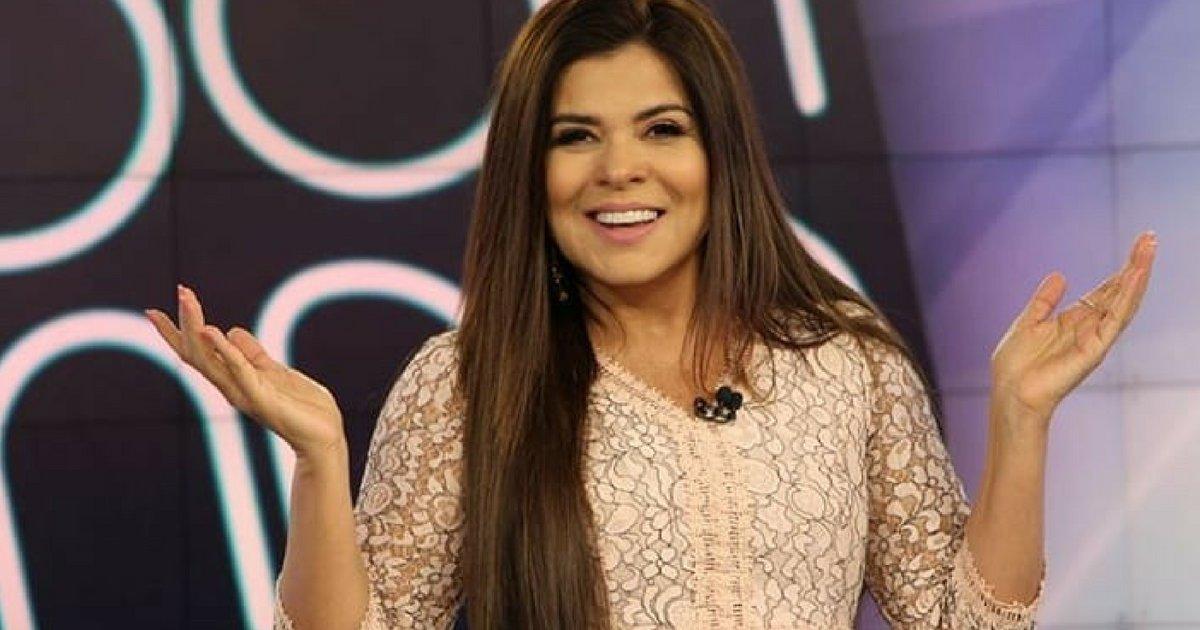A apresentadora do SBT, Mara Maravilha (Reprodução)