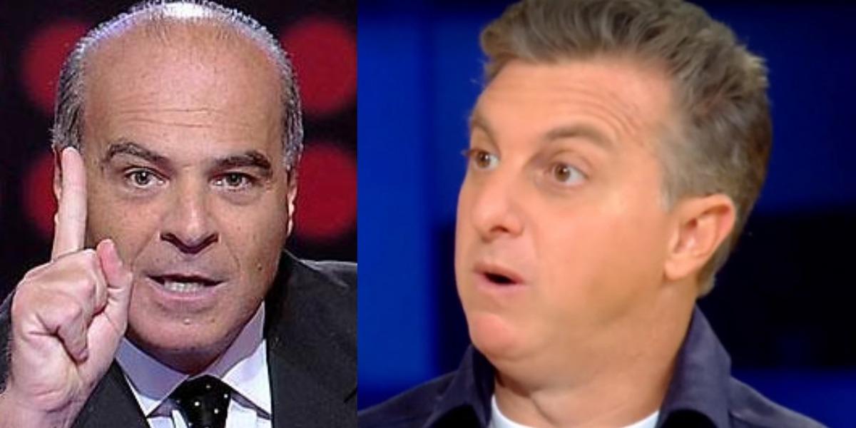 Marcelo de Carvalho alfinetou Luciano Huck (Foto: Reprodução/RedeTV!/TV Globo)