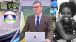 Márcio Gomes se despediu dos telespectadores no 'Jornal Hoje' (Foto: reprodução/Globo)