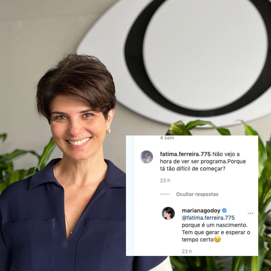 Mariana Godoy respondeu uma seguidora (Foto: reprodução/Instagram)