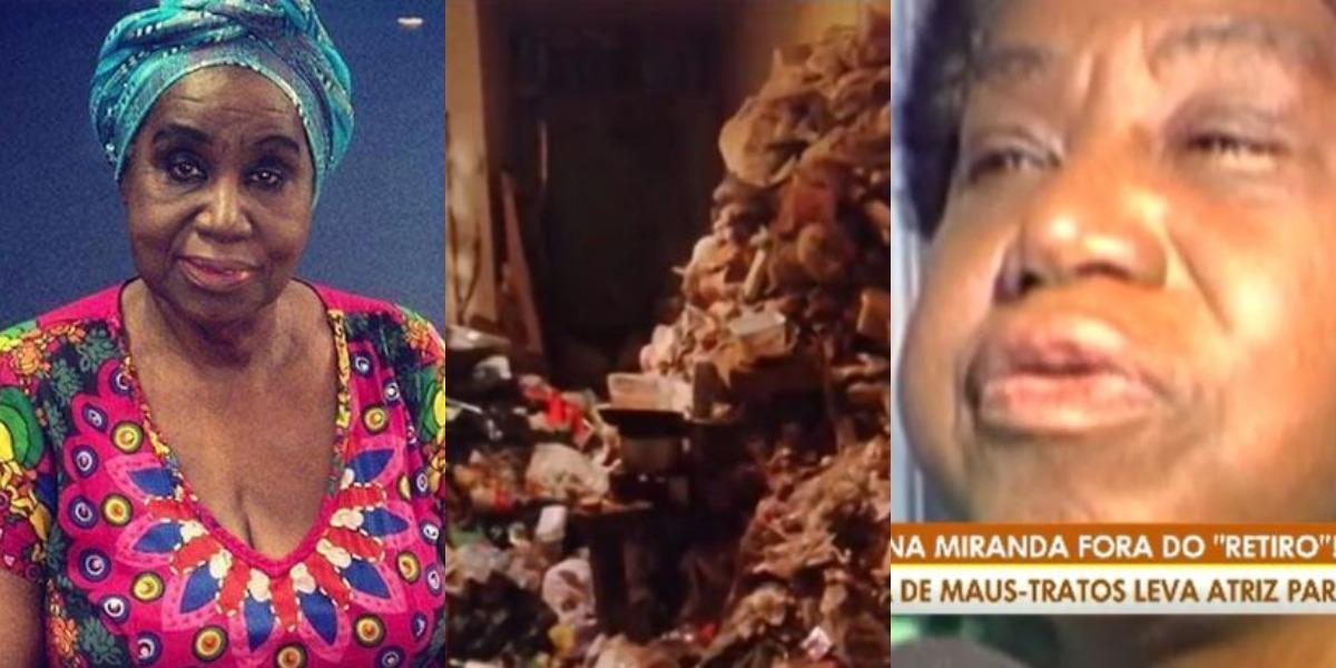 Marina Miranda sofre com problema de acumulação (Foto: Reprodução/Record/Facebook)