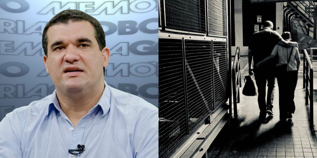 Miguel Athayde é marido de Renata Vasconcellos (Foto: Reprodução/TV Globo/Instagram)
